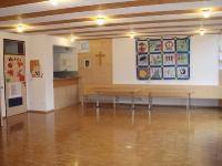 Pfadfinderheim - großer Gruppenraum